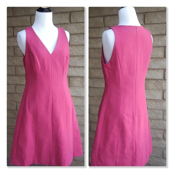 4d7ef2b42a1 Ann Taylor LOFT A-Line Sleeveless Career Dress. M 5ac0de258290afb9ddec777e